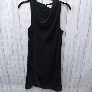 Helmut Lang Sleeveless Black Mini Dress